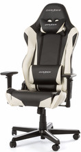 DX Racer RACING Gaming Chair Zwart/Wit