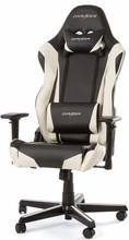 DX Racer RACING Gaming Chair Zwart/Wit