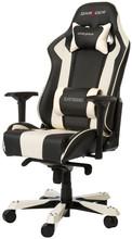 DX Racer KING Gaming Chair Zwart/Wit