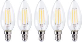 XQLITE XQ1562 LED-Lamp Kaars E14 4W Dimbaar (5x)