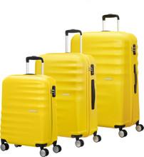 American Tourister WaveBreaker Set A 3 Stuks Sunny Yellow