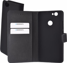 Mobiparts Premium Wallet Case Huawei Nova Zwart