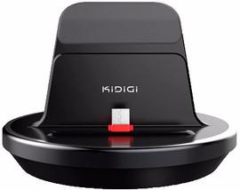 KiDiGi PowerDock Galaxy S6/S6 Edge/S6 Edge Plus Zwart