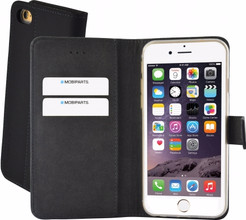 Mobiparts Premium Wallet TPU Case iPhone 6/6s Zwart