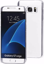 BeHello Back Case Galaxy S7 Edge Transparant