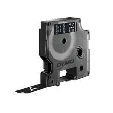 Dymo LW Duurzame D1 Label Wit-Zwart (12 mm x 3 m)