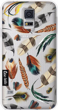 Casetastic Softcover Galaxy S5 Feathers Multi