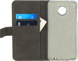 Mobilize Classic Gelly Wallet Book Case Moto Z Play Zwart