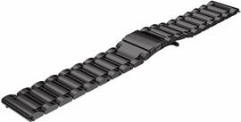 Just in Case Samsung Gear S3 Stainless Steel Watchband Black