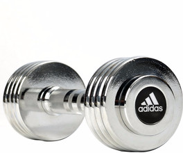 Adidas Chrome Dumbbell 5.0 kg
