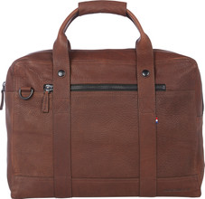 """Decoded Leather Messengerbag 15"""" Brown"""