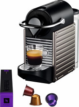Krups Nespresso Pixie Electric Titan XN300510 (BE)