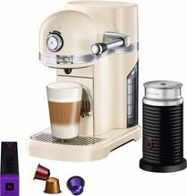 KitchenAid Nespresso en Aeroccino Amandel