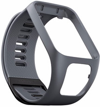 TomTom Spark 3/Runner 3 Horlogebandje Grijs - L