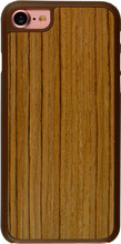 iMoshion Elia Wooden Cover iPhone 7/8 Bruin
