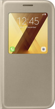 Samsung Galaxy A5 (2017) S View Stand Cover Goud