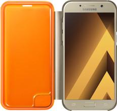 Samsung Galaxy A5 (2017) Neon Flip Cover Goud
