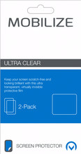 Mobilize Nokia 7 Plus Screenprotector Plastic Duo Pack