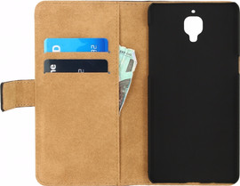Mobilize Classic Wallet Book Case OnePlus 3/3T Zwart