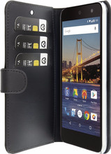 Valenta Booklet Classic Luxe  Android One GM5 Plus Zwart