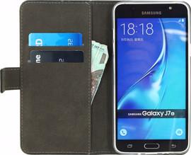 Mobilize Gelly Wallet Book Case Galaxy J7 (2016) Zwart