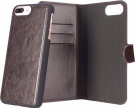Xqisit Eman Wallet iPhone 7+/8+ Book Case Bruin
