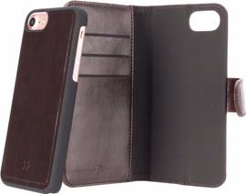 Xqisit Eman Wallet iPhone 7/8 Book Case Bruin