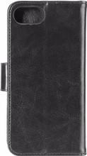 Xqisit Eman Wallet iPhone 7/8 Book Case Zwart