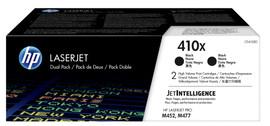 HP 410X Toner Zwart XL Duo Pack (CF410XD)