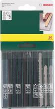 Bosch 10-delige Decoupeerzaagbladenset
