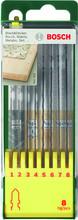 Bosch 8-delige Decoupeerzaagbladenset