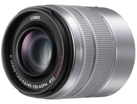 Panasonic Lumix G Vario 45-150mm f/4.0-5.6 ASPH. MEGA Zilver
