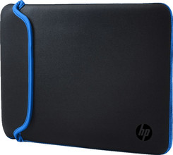 HP 15,6'' Reversible Sleeve Zwart/Blauw