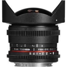 Samyang 8mm T3.8 Diagonal Fisheye Canon