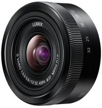 Panasonic Lumix G 12-32mm f/3.5-5.6 zwart