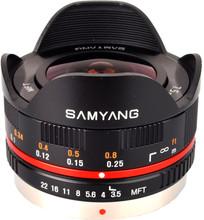 Samyang 7,5mm f/3.5 UMC Micro 4/3 Zwart