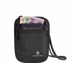 Eagle Creek Silk Undercover Neck Wallet Black