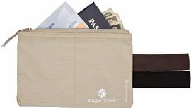 Eagle Creek RFID Blocker Hidden Pocket Moneybelt Tan