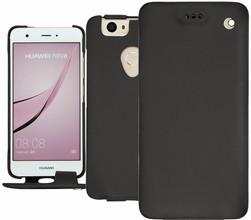 Noreve Tradition Huawei Nova Flip Case Zwart