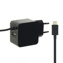 Mobilize Thuislader USB C Zwart