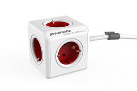 PowerCube 5-voudige stekkerdoos 1,5 m BE