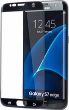 Azuri Galaxy S7 Edge Screenprotector Edge to Edge Zwart