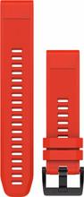 Garmin Fenix 5 QuickFit Siliconen Polsband - Rood