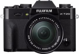 Fujifilm X-T20 Zwart +  XC 16-50mm f/3.5-5.6 OIS II