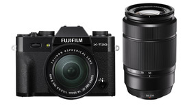 Fujifilm X-T20 Zwart + 16-50mm + 50-230mm IOS II