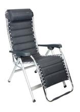 Crespo Relaxstoel AL-232 Deluxe Donker Grijs