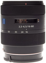 Sony 16-80mm f/3.5-4.5 Carl Zeiss Vario-Sonnar T* DT