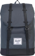 Herschel Retreat Dark Shadow/Black/Black Leather