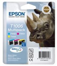 Epson T1006 CMY Ink Cartridge Multi Pack