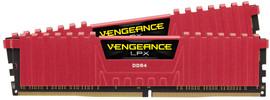 Corsair Vengeance LPX 16GB DIMM DDR4-3000/15 2 x 8 GB Rood